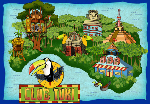 Club tuki educational game arcade kids learn earn and win